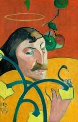 Autoportret 1889, paul gauguin - plakat wymiar do wyboru: 61x91,5 cm