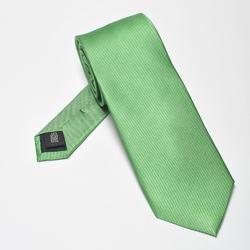 Zielony krawat jedwabny