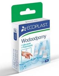 Ecoplast plastry opatrunkowe poliuretanowe wodoodporne x 16 sztuk