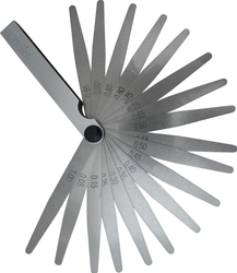 Szczelinomierz 20 listkowy miernik szczelin 0.005 - 1mm