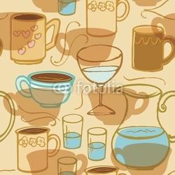 Obraz na płótnie canvas dwuczęściowy dyptyk napój kawowy