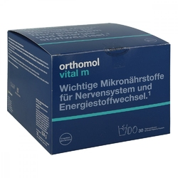 Orthomol vital m grapefruit granulowany