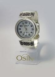Zegarek srebrny o110