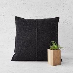 Moyha :: poduszka mała wełniana antracytowa
