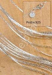 Srebrny łańcuszek 925 dł 45cm