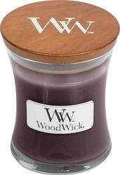Świeca core woodwick black plum cognac mała