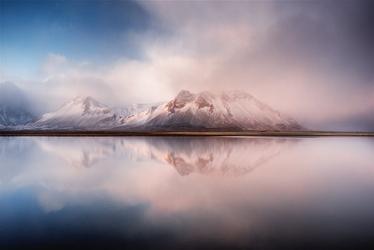 Fototapeta na ścianę zamglony górski widok  fp 5745