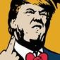 TVBOY Donald Trump - plakat