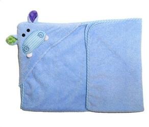 Ręcznik mały z kapturkiem - hipopotam