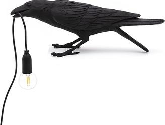 Lampa bird czarna playing