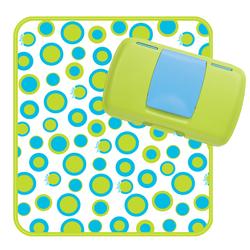 Przewijak w etui z miejscem na pieluchy i chusteczki b.box Retro Circles