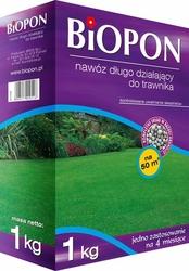 Biopon, długo działający nawóz granulowany do trawnika, 1kg