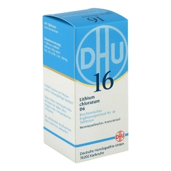 Biochemie dhu 16 lithium chloratum d6 tabletki