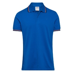 Koszulka męska diadora polo pq - niebieski