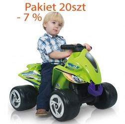 Injusa wielofunkcyjny pojazd jeździk quad pchacz pakiet