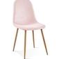 Krzesło simon różowy aksamit