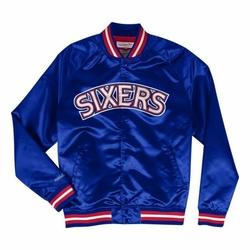 Kurtka Mitchell  Ness NBA Philadelphia 76ers Lightweight Satin - STJKMG18013-P76ROYA1 - Philadelphia 76ers