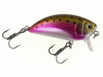 Wobler Dam Effzett Pro-Lite Shallow Crank 40mm Rainbow Trout