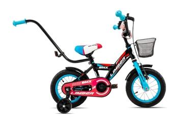 Rower dziecięcy limber 12 boy czarno-niebiesko-czerwony 2019