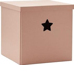 Pudełko star różowe