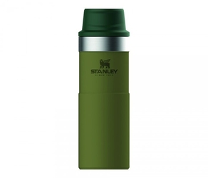 Kubek termiczny stanley 470 ml trigger action travel mug ciemnozielony