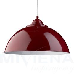 Fusion lampa wisząca czerwony