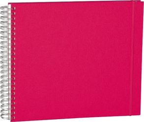 Album na zdjęcia uni maxi mucho białe karty różowy