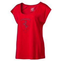 Koszulka Puma Ferrari Lifestyle Big Shield - 573517-02