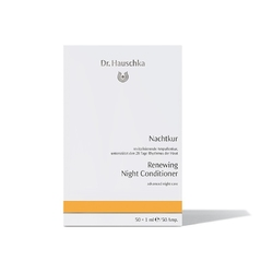 Dr hauschka kuracja w ampułkach na noc renewing night conditioner