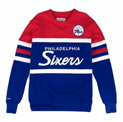 Bluza Mitchell  Ness NBA Philadelphia 76ers Head Coach - Philadelphia 76ers