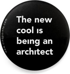 Przypinka czarna Badge The New Cool