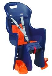 Fotelik polisport boodie cfs na bagażnik niebiesko-pomarańczowy