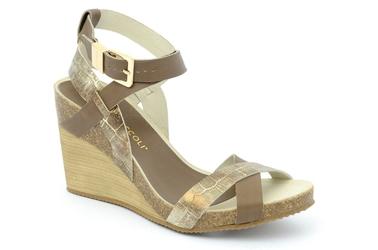Sandały nik 07-0137-012 brązowy