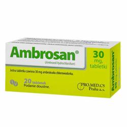 AMBROSAN 0,03g x 20 tabletek