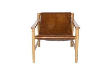 Be pure fotel sling skórzany naturalny-produkt z wadą  800477-nusr00033