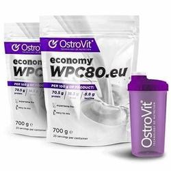 OSTROVIT WPC Economy - 2x 700g - Cookies  Cream