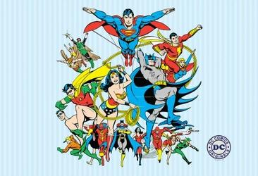 DC Comics Bohaterowie - fototapeta