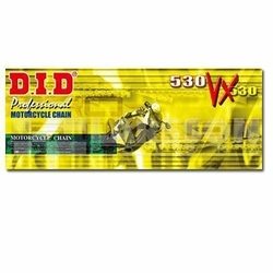 Łańcuch napędowy DID 530 VX120 X-ringowy wzmocniony 2151695