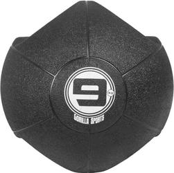 9 kg Piłka lekarska treningowa z uchwytem Gorilla Sports