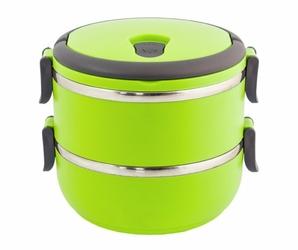 Pojemnik obiadowy na żywność lunch box  - zielony