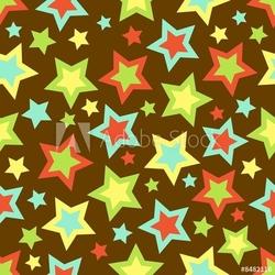 Obraz na płótnie canvas dwuczęściowy dyptyk odważne tło gwiazd