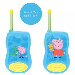 Walkie-talkie peppa pig świnka 120m