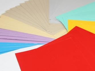 Komplet próbek kolorowych tablic suchościeralnych
