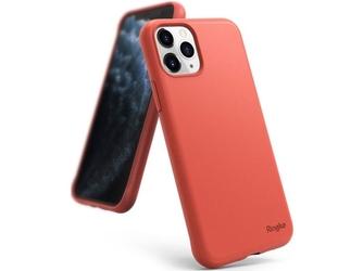 Etui ringke air s do apple iphone 11 pro coral + szkło alogy - czerwony