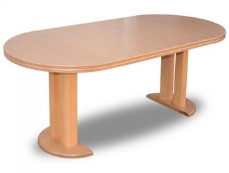 Okrągły rozkładany stół abida  90-240 cm