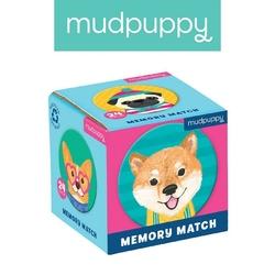 Gra mini memo mudpuppy - psy