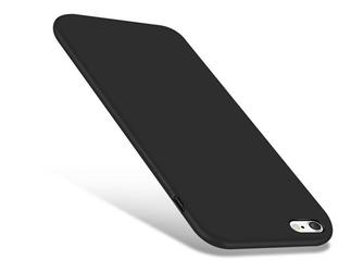 Etui silikonowe alogy slim case do apple iphone 6 6s czarne
