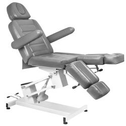 Fotel kosmetyczny elektr. azzurro 706 pedi  1 siln. szary