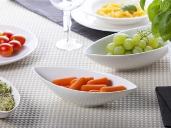 Półmisek  salaterka owalna porcelana altom design regular 19 cm