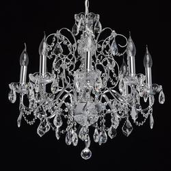 Klasyczny ośmioramienny żyrandol carolina mw-light crystal 367013408